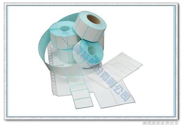 【倫特】熱感標籤貼紙 50*40mm,1000張 x 50捲(Pos感熱貼紙 條碼紙 條碼機用紙 )