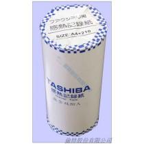 【倫特】傳真紙 Tashiba A4(210mm x 30m x 25mm) x 6入